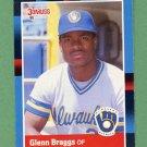 1988 Donruss Baseball #240 Glenn Braggs - Milwaukee Brewers