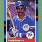 1988 Donruss Baseball #198 Rey Quinones - Seattle Mariners