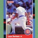 1988 Donruss Baseball #191 Leon Durham - Chicago Cubs