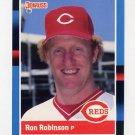 1988 Donruss Baseball #166 Ron Robinson - Cincinnati Reds
