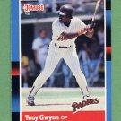 1988 Donruss Baseball #164 Tony Gwynn - San Diego Padres