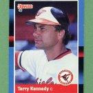 1988 Donruss Baseball #150 Terry Kennedy - Baltimore Orioles