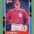 1988 Donruss Baseball #140 Joe Magrane - St. Louis Cardinals NM-M