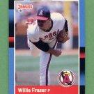 1988 Donruss Baseball #135 Willie Fraser - California Angels