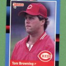 1988 Donruss Baseball #063 Tom Browning - Cincinnati Reds NM-M