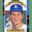 1988 Donruss Baseball #024 Bob Welch DK - Los Angeles Dodgers