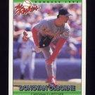 1992 Donruss Rookies Baseball #088 Donovan Osborne - St. Louis Cardinals