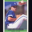 1992 Donruss Rookies Baseball #082 Dennis Moeller - Kansas City Royals