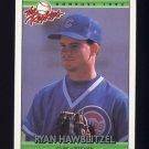 1992 Donruss Rookies Baseball #049 Ryan Hawblitzel RC - Chicago Cubs
