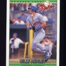 1992 Donruss Rookies Baseball #005 Billy Ashley RC - Los Angeles Dodgers