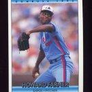 1992 Donruss Baseball #779 Howard Farmer - Montreal Expos