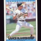 1992 Donruss Baseball #768 Lance Blankenship - Oakland A's