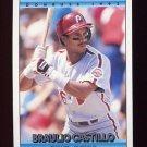 1992 Donruss Baseball #753 Braulio Castillo - Philadelphia Phillies