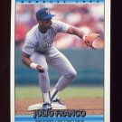 1992 Donruss Baseball #741 Julio Franco - Texas Rangers