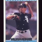1992 Donruss Baseball #630 Wilson Alvarez - Chicago White Sox