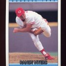 1992 Donruss Baseball #624 Randy Myers - Cincinnati Reds
