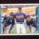1992 Donruss Baseball #616 Atlanta Braves No-Hitter / Kent Mercker / Mark Wohlers / Alejandro Pena
