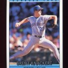 1992 Donruss Baseball #608 Brent Knackert - Seattle Mariners