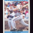 1992 Donruss Baseball #606 Mark Lemke - Atlanta Braves
