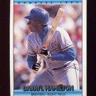 1992 Donruss Baseball #593 Darryl Hamilton - Milwaukee Brewers