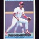 1992 Donruss Baseball #573 Freddie Benavides - Cincinnati Reds