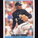 1992 Donruss Baseball #509 Melido Perez - Chicago White Sox