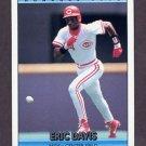 1992 Donruss Baseball #503 Eric Davis - Cincinnati Reds