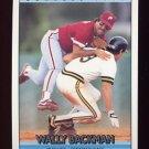 1992 Donruss Baseball #478 Wally Backman - Philadelphia Phillies