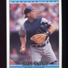 1992 Donruss Baseball #386 Greg Olson - Atlanta Braves
