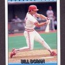 1992 Donruss Baseball #293 Bill Doran - Cincinnati Reds