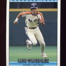 1992 Donruss Baseball #270 Luis Gonzalez - Houston Astros