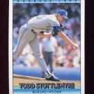 1992 Donruss Baseball #263 Todd Stottlemyre - Toronto Blue Jays