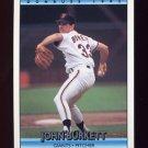 1992 Donruss Baseball #257 John Burkett - San Francisco Giants