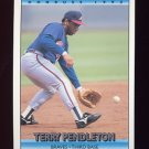 1992 Donruss Baseball #237 Terry Pendleton - Atlanta Braves