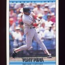 1992 Donruss Baseball #208 Tony Pena - Boston Red Sox