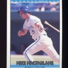 1992 Donruss Baseball #161 Mike Macfarlane - Kansas City Royals