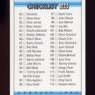 1992 Donruss Baseball #160 Checklist 80-157