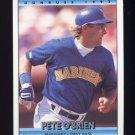 1992 Donruss Baseball #086 Pete O'Brien - Seattle Mariners