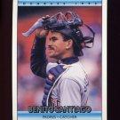 1992 Donruss Baseball #040 Benito Santiago - San Diego Padres