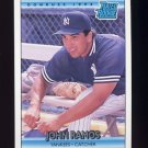 1992 Donruss Baseball #015 John Ramos RR - New York Yankees