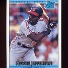 1992 Donruss Baseball #012 Reggie Jefferson RR - Cleveland Indians