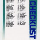 1992 Fleer Baseball #715 Checklist 102-194