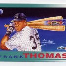 1992 Fleer Baseball #712 Frank Thomas PV - Chicago White Sox