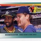 1992 Fleer Baseball #707 Harold Baines / Wade Boggs