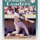 1992 Fleer Baseball #688 Jose Canseco LL - Oakland A's