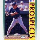 1992 Fleer Baseball #676 Rico Rossy MLP - Atlanta Braves