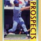 1992 Fleer Baseball #674 Tim Spehr MLP - Kansas City Royals
