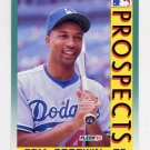 1992 Fleer Baseball #652 Tom Goodwin MLP - Los Angeles Dodgers
