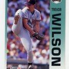 1992 Fleer Baseball #651 Trevor Wilson - San Francisco Giants