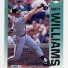 1992 Fleer Baseball #650 Matt Williams - San Francisco Giants